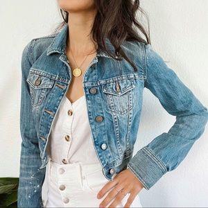 Abercrombie & Fitch blue jean jacket